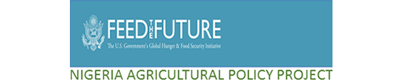 "banner of the Nigeria Agricultural Policy Project""; links to the project website"