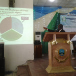 NSSP presents at the 15th Annual Conference of the Nigerian Association of Agricultural Economists