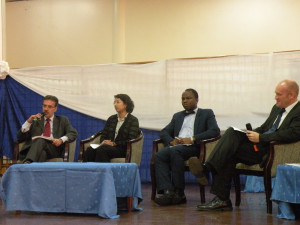 Dr. George Mavrotas, NSSP Program Leader, participating in a panel discussion
