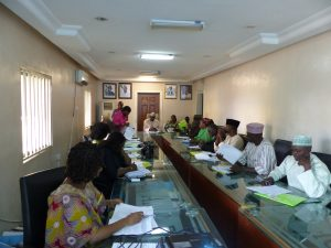 The Opening of the Introductory Policy Communications course held at FMARD (Abuja) in December 2016 (C) 2016 Bisola Oyediran