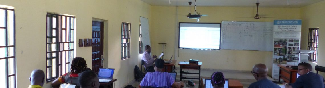 Improving agricultural policy in Nigeria by enhancing data analysis in Delta State