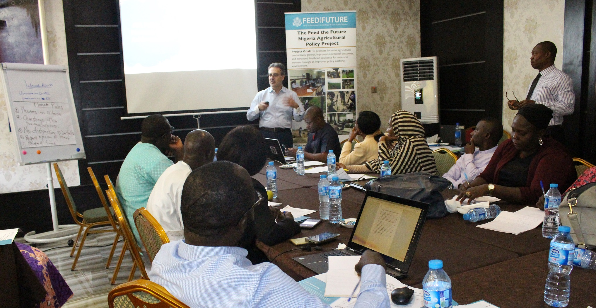 Training towards a stronger agricultural policy framework for Nigeria
